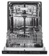 Maytag Fully Integrated Dishwasher with 5 Wash Cycles, 14 Place Settings, Hard Food Disposer, Quick Wash, Steam Wash, 47 dBA, PowerBlast™ Cycle in Stainless Steel MDB7959SHZ