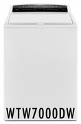 Whirlpool 4.8 cu. ft. Cabrio High-Efficiency Top Load Washer with Industry-Exclusive ColorLast Option - White WTW7000DW