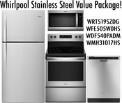 Whirlpool Stainless Steel Value Package TM!
