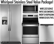 Whirlpool Stainless Steel Value Package SBS!