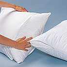 100% Cotton 230 Thread Count Luxury King Size Pillow Protector Complete Set (4 King Pillow Protectors)