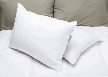 Blue Label Firm Pillow-Featured At Many Choice ® Hotels