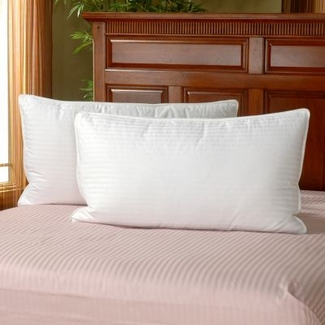 Martex ® Brentwood Gold King Pillow- Featured in Many Hampton Inn Hotels (2 King Pillows)