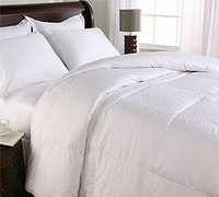 Comforters Featured at Many Hilton