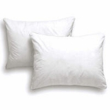 Down Etc ® 75% White Goose Feather 25% White Goose Down Queen Pillow- Featured in the Palazzo Hotel Las Vegas