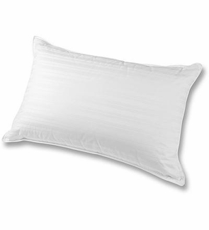 Down Etc. ® 75% White Goose Feather 25% White Goose Down Standard Pillow- Featured in The Palazzo Hotel Las Vegas (2 Standard Pillows)