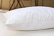 Down Etc ® 75% White Goose Feather 25% White Goose Down Queen Pillow- Featured at the St. Julien Hotel in Boulder Colorado