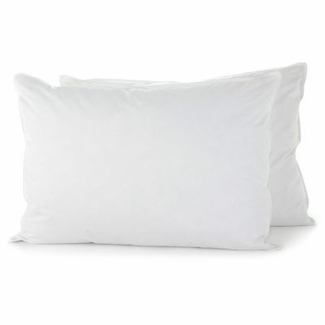 Down Etc. ® 75% White Goose Feather 25% White Goose Down Standard Pillow- Featured at the St. Julien Hotel in Boulder Colorado (4 Standard Pillows)