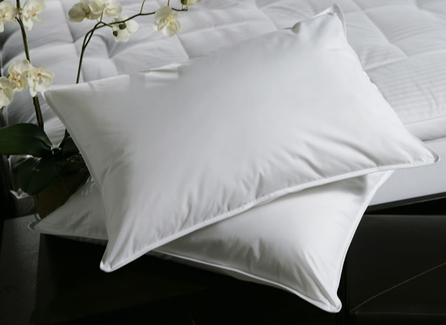 Down Lite® Spiracluster Queen Pillows- Featured at Many Sheraton Hotels (4 Queen Pillows)