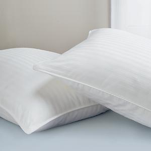 Invista ® Dacron II Extra Plump Pillow Complete Set  Featured in Many Super 8  Motels (4 Standard Size Pillows)