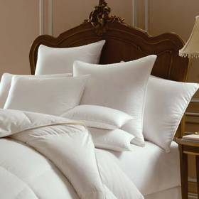 "Pacific Coast Down Surround Chambered King Size Four (4) Pillow Pack (20""x36"") - Featured in Many Marriott Properties Worldwide"