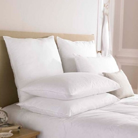 Pacific Coast ® Touch of Down Jumbo Pillow- Found in Many Hampton Inn Hotel Properties (4 Jumbo Pillows Included)