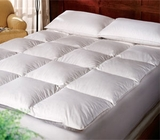 Pacific Coast Gusseted Baffle Box Feather Bed- King Size- Featured in many Marriott ® Hotel Locations