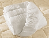 Pillow Factory ® Double Fill Mattress Pad- Queen Size- Featured in Many Red Roof Inn Hotels