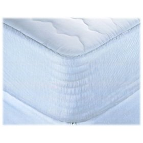 Restful Nights ® Synthetic Pillow Top Mattress Cover- King- Found in Many Hampton Inn Locations
