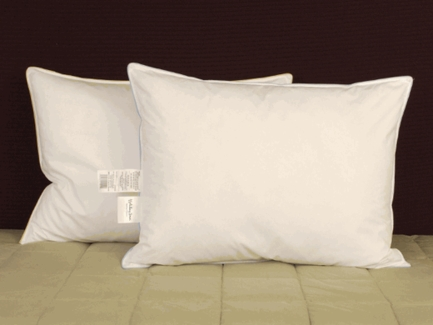 Blue Cord Soft Standard Size Pillow Set as Featured in Express