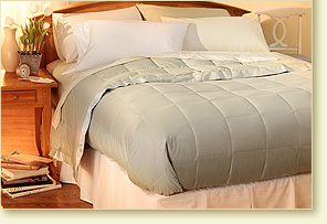 The Pacific Coast ® Down Blanket Found at Many Ritz Carlton Hotels - Sage - Full/Queen Size