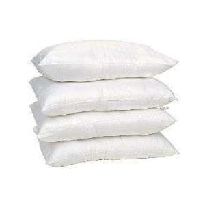 The National Sleep Products/ Restful Nights Trillium Gel Standard Pillow- Featured in Many Wyndham Hotels (4 Standard Pillows)