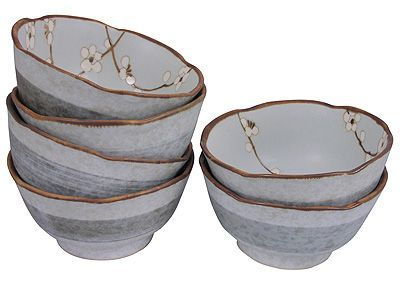 4-5/8 Inch Cherry Blossom Small Bowl Set of Six