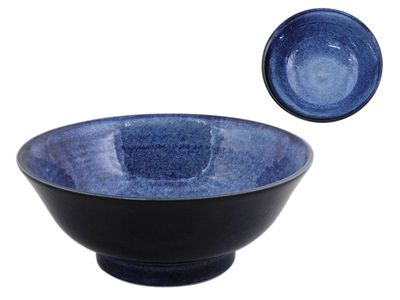 8-1/4 Inch Starry Night Japanese Ramen Bowl