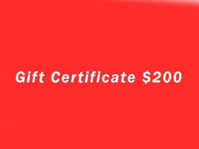 Gift Certificate $200