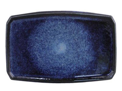 7-3/8 Inch Starry Night Japanese Sushi Plate