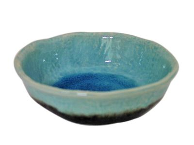 Turquoise Sky and Earth Small Nesting Bowl