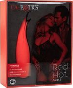 CalExotics – Red Hot Sizzle – Clitoral Vibrator – Red
