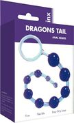 Kinx Violet Anal Beads - Dragons Tail