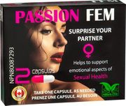 Passion Fem - Sexual Health Capsules For Women - 2 Pack