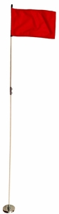 Magnetic Base with 6 Foot Whip Pole