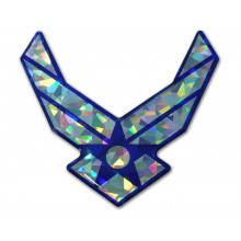 Airforce Wing 3D Reflective Decal