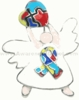 Autism Angel Brooch