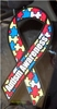 "Autism Awareness Large Static Decal 3"" x 6"""