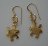 Autism Gold Plated Earrings