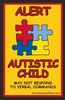 Autistic Child Alert Decal
