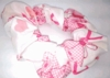 Breast Cancer Awareness Pink Ribbon Hair Scrunchie