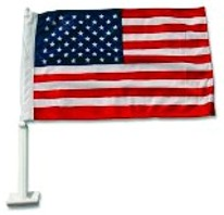 "Car Flag USA 11"" x 15.5"""