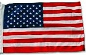 "Car Flag USA Replacement 8"" x 13"""