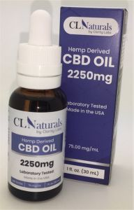 CBD Oil Hemp Derived 2250mg