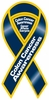 "Colon Cancer Awareness 2 in 1 Ribbon Magnet 4"" x 8"""