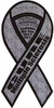 "Cure Multiple Sclerosis 2 in 1 Ribbon Magnet 4"" x 8"""