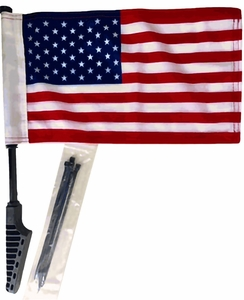 Motorcycle USA Flag Heavy Duty 8