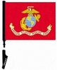 Cycle Marines Flag Heavy Duty