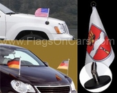 Diplomatic Car Flags