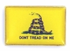 Don't Tread On Me Gadsden Pin