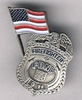 FDNY Shield Flag Pin