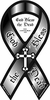 "God Bless the Dead Large Ribbon Magnet 4"" x 8"""