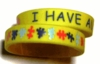 I Have Autism Bracelet (child size)