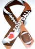 I Love Football Ribbon Magnet